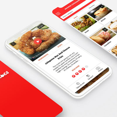 The 12 Tomatoes Recipe App for iOS