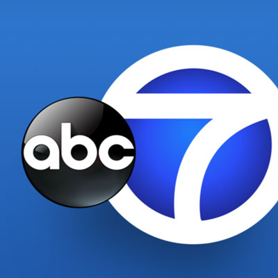 WABC New York, Eyewitness News logo. This project was a redesign of the header used across eight major local news stations' websites.